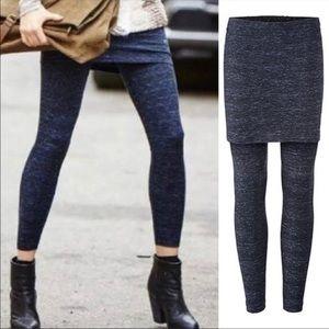 CAbi Space Dye M'leggings Skirt Legging Combo